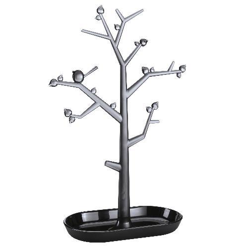 コジオル koziol アクセサリーツリー pi:p L ブラック 6001-KZ5262-107