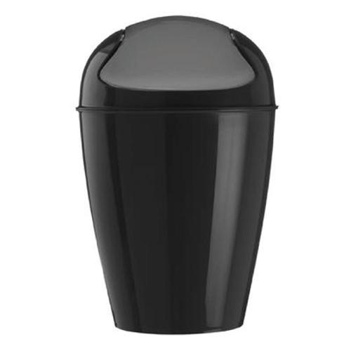 コジオル koziol ゴミ箱 スイングトップ DEL M ブラック 6001-KZ5775-526