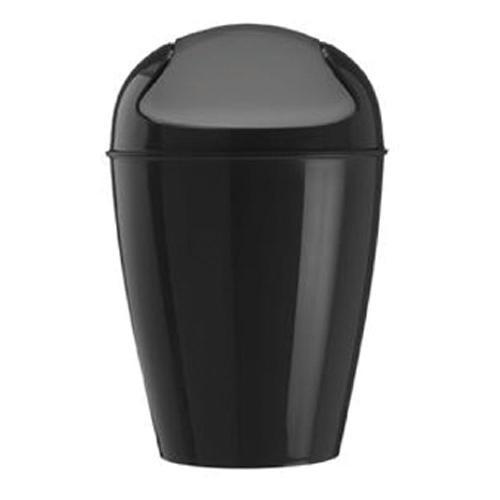 コジオル koziol ゴミ箱 スイングトップ DEL ブラック 6001-KZ5777-526