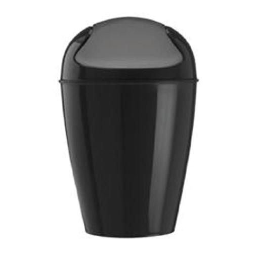 コジオル koziol ゴミ箱 スイングトップ DEL ブラック 6001-KZ5778-526