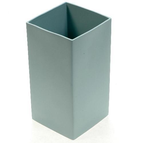 アザ ASA スクエアベース CUBE BLUE H18cm ライトブルー 6009-46011-108