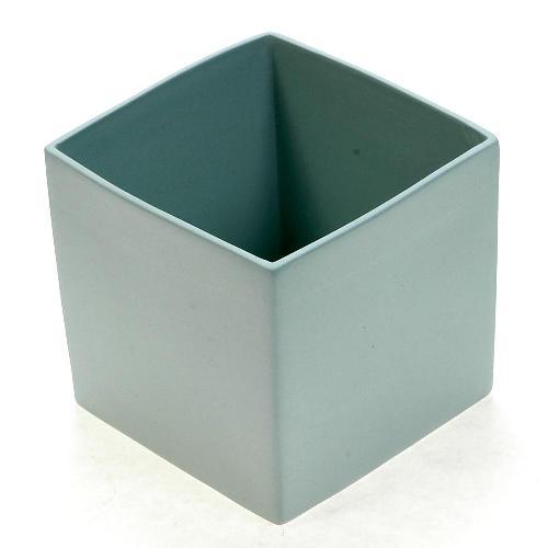 アザ ASA スクエアベース CUBE BLUE H9cm ライトブルー 6009-46012-108