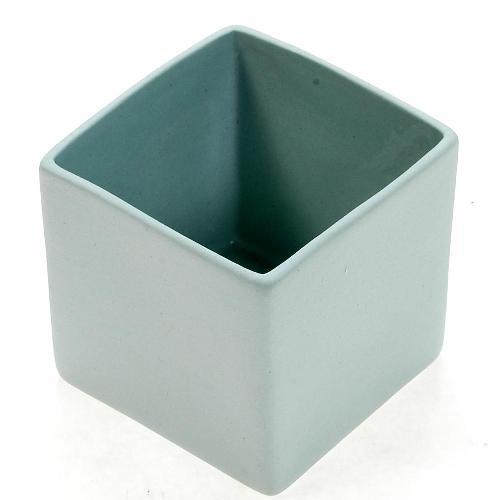 アザ ASA スクエアベース CUBE BLUE H6cm ライトブルー 6009-46015-108