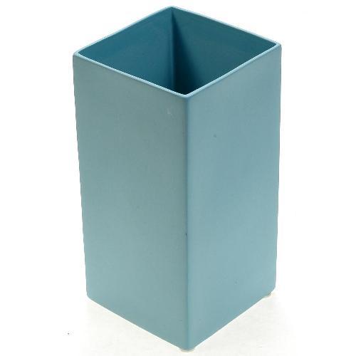 アザ ASA スクエアベース CUBE BLUE H18cm アクア 6009-46021-108