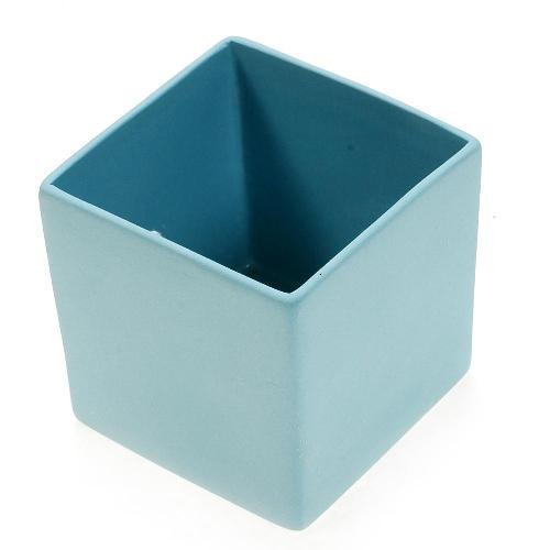 アザ ASA スクエアベース CUBE BLUE H6cm アクア 6009-46025-108