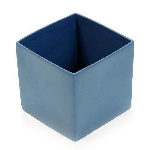 アザ ASA スクエアベース CUBE BLUE H9cm ブルー 6009-46032-108
