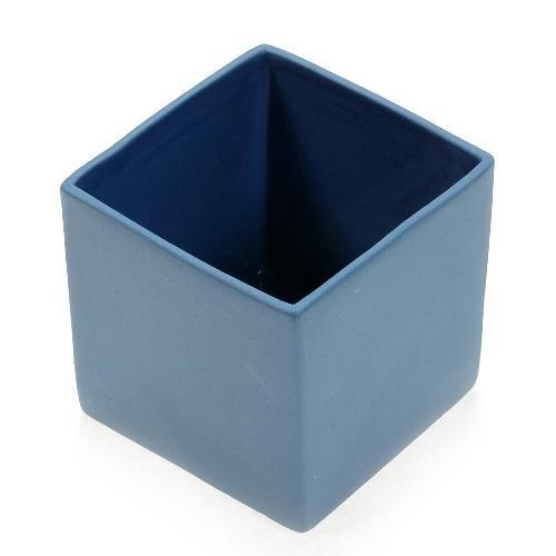 アザ ASA スクエアベース CUBE BLUE H6cm ブルー 6009-46035-108