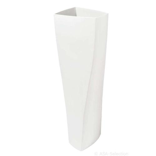アザ ASA フラワーベース TWIST H70cm ホワイト 6009-92809-091
