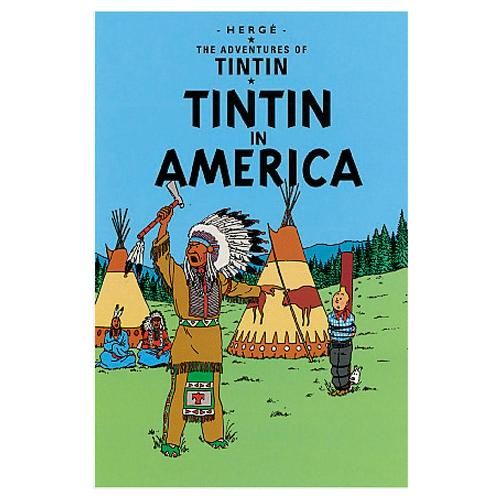 タンタン TINTIN ポストカード アメリカ 3101-TINPC-071