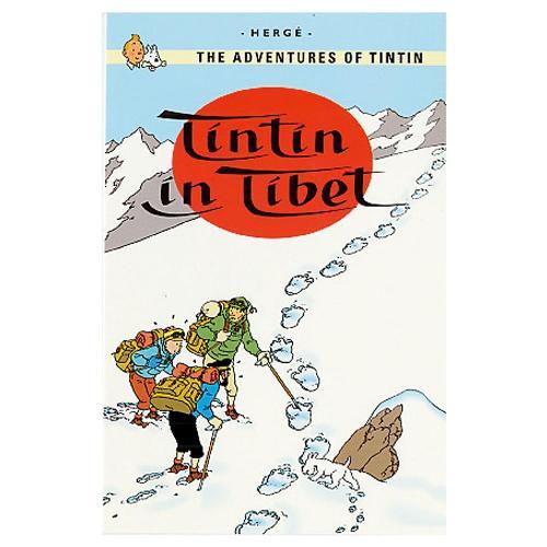 タンタン TINTIN ポストカード チベット 3101-TINPC-088