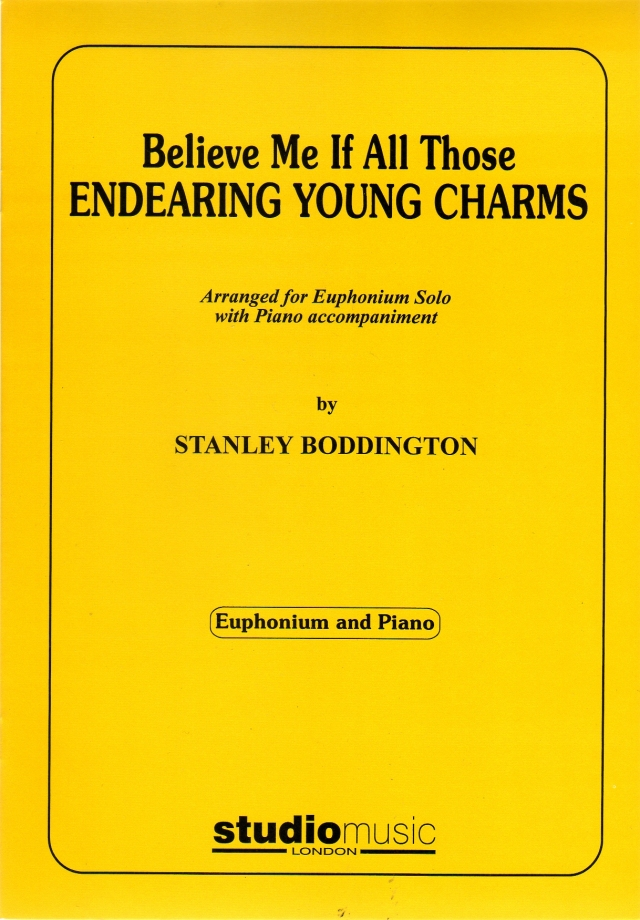 Believe Me If All Those Endearing Young Charms  春の日の花と輝く (アイルランド民謡 Boddington編)