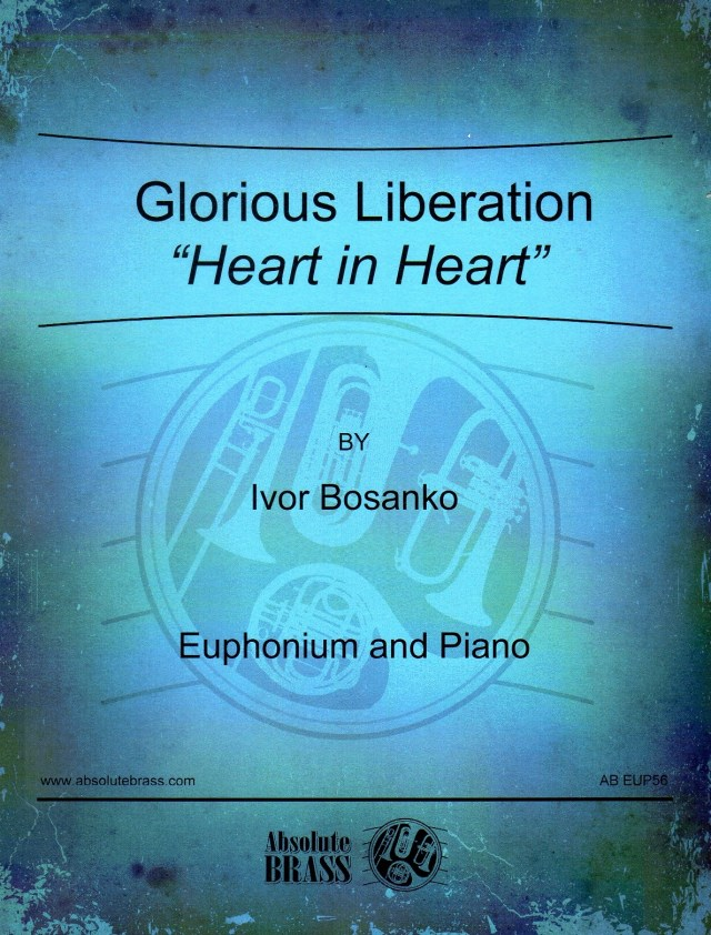 "Ivor Bosanko/ Glorious Liberation ""Heart in Heart""  ボサンコ/ハート・イン・ハート"