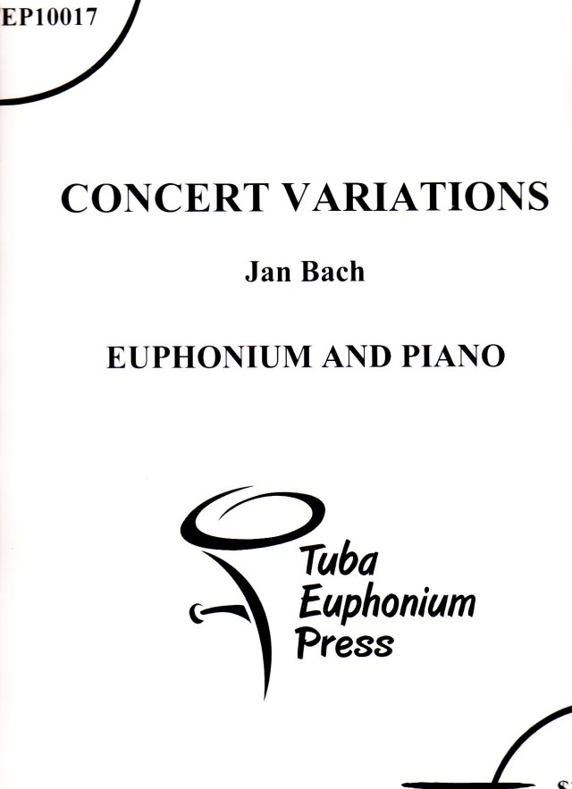 Jan Bach/ Concert Variations  ジャン・バック/コンサート・ヴァリエーションズ