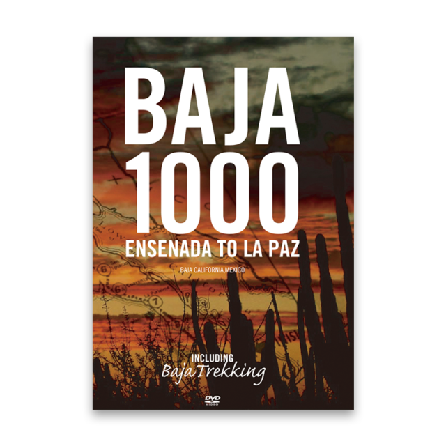BAJA1000 ENSENADA to LAPAZ  VOD版