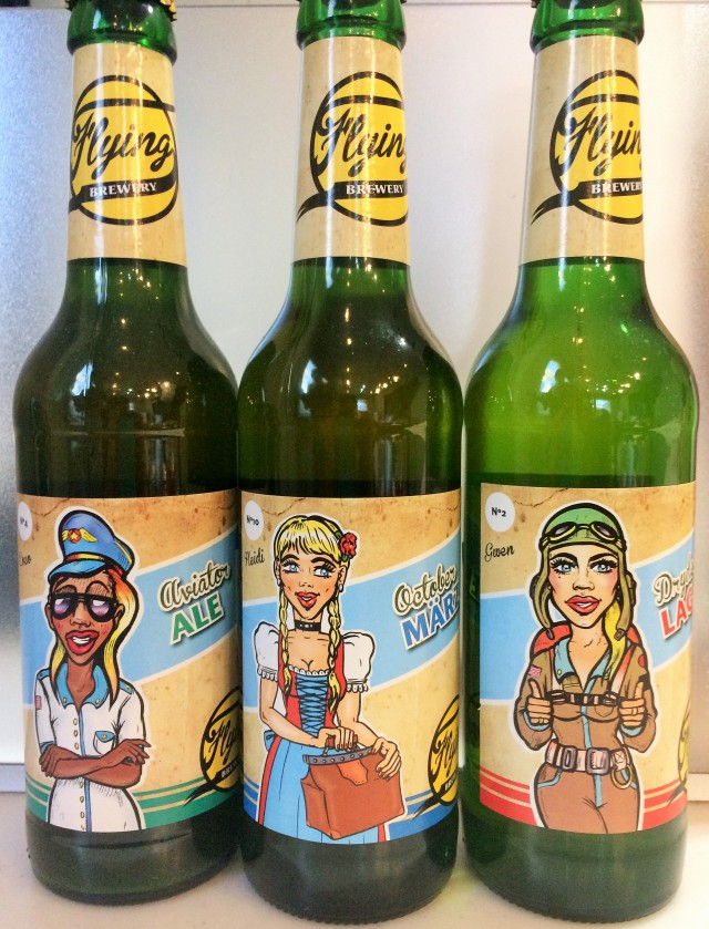 Flying Brewery のみくらべ ビール3種各4本 合計12本
