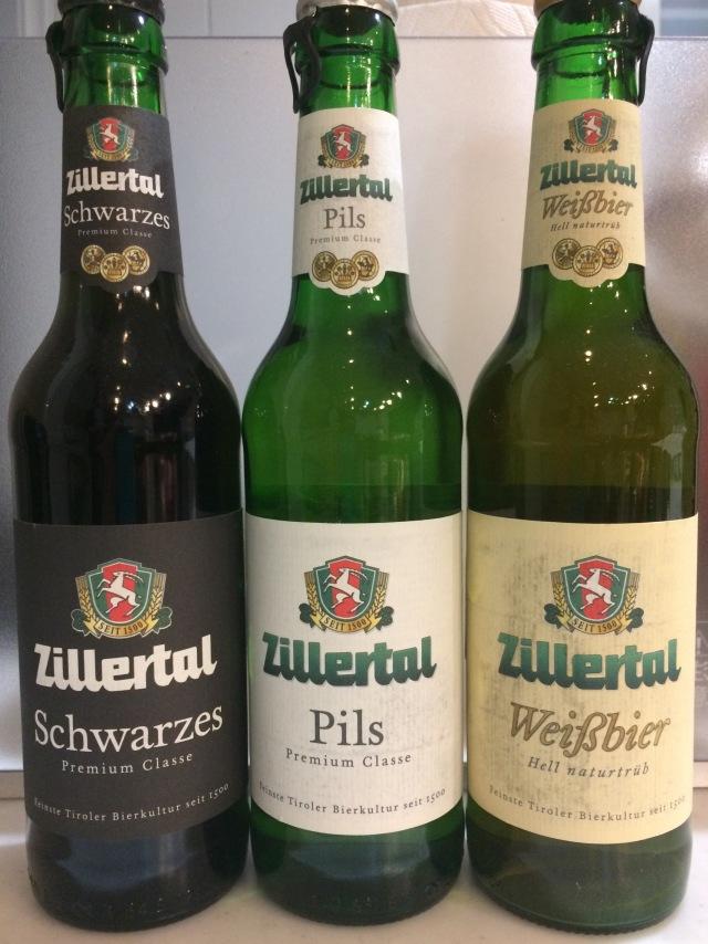 Zillertal ツィラタール ピルス ヴァイス シュバルツ 各4本 合計12本セット