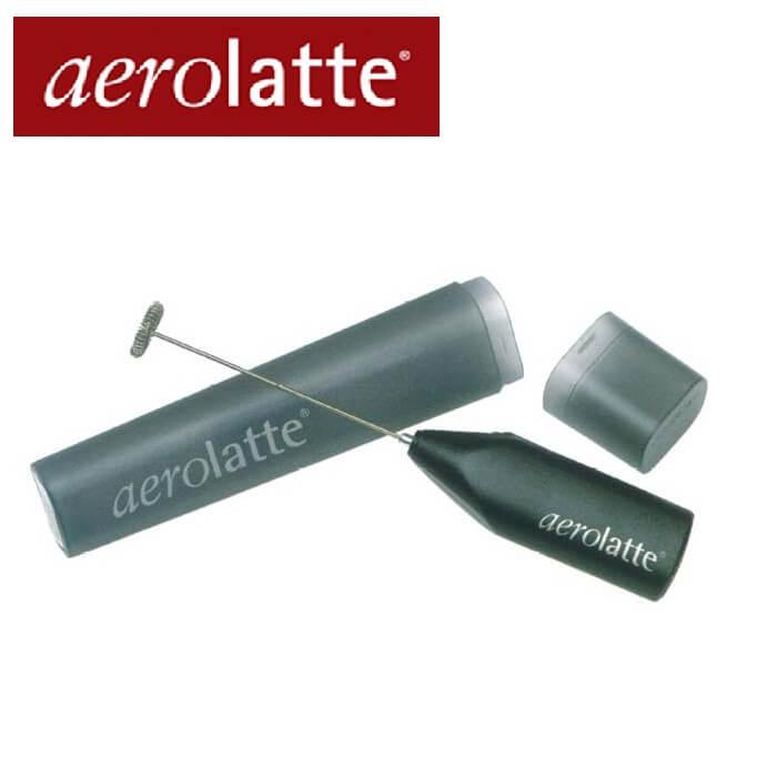 アエロラッテ aerolatte 本体黒 ケース付き ミルクフォーマー 珈琲/カフェ/コーヒー バターコーヒー