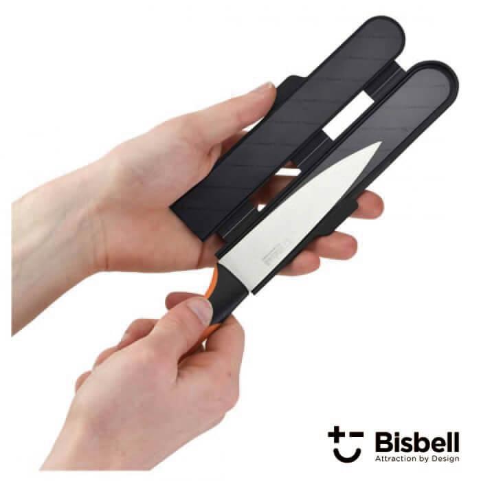 ビスベル BISBELL マグネット包丁カバーPP S(小) 包丁ケース ナイフ シース Magnetic Blade Guard【動画】