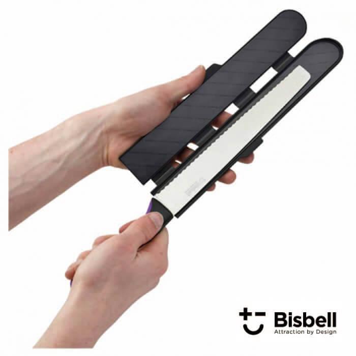 ビスベル BISBELL マグネット包丁カバーPP M(中) 包丁ケース ナイフ シース Magnetic Blade Guard【動画】