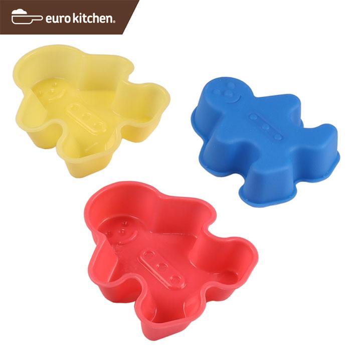 ユーロキッチン eurokitchen シリコンモールドミニ ケーキ キャンドル ソープ型