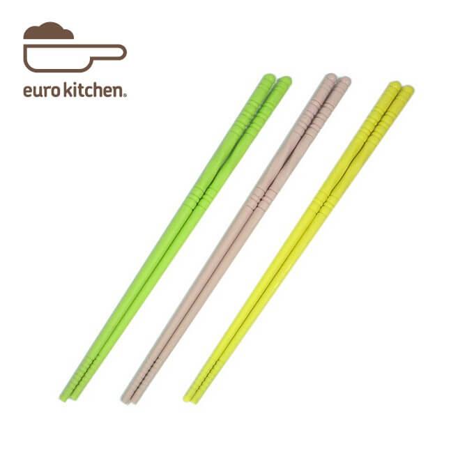 ユーロキッチン eurokitchen シリコンお箸 シリコン菜箸 ショートタイプ