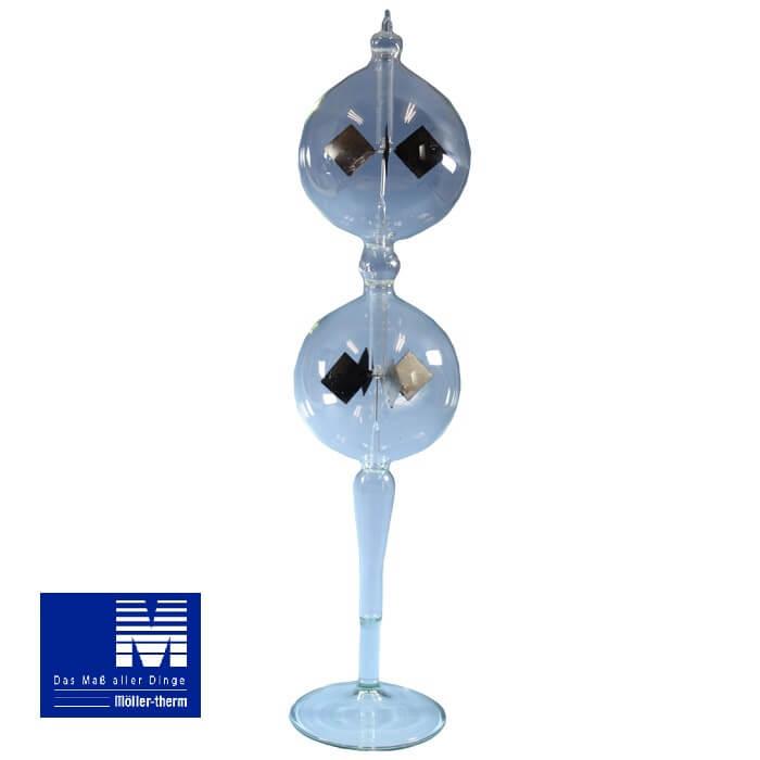 メラーサーモ 光車 ラジオメーター Radiometer スタンド2段クリア #807518