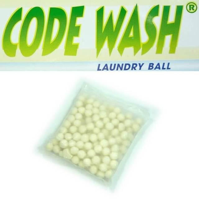 コードウォッシュ CODEWASH 洗濯ボール 新型 詰め替え用中身玉 ボール1個分