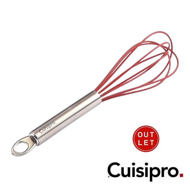 クイジプロ Cuisipro 泡だて器 小 赤レッド シリコンコートウィスク