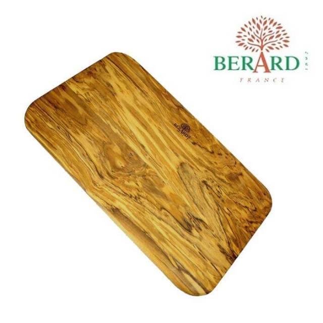 ベラール BERARD オリーブの木 まな板厚型(長方形)大#54178