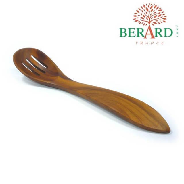 ベラール BERARD オリーブの木 オリーブ用穴あきスプーン #26275 【V】