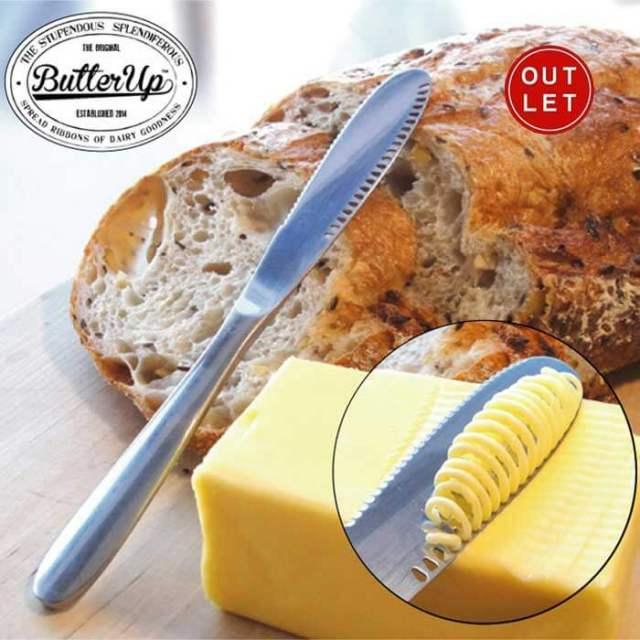 【アウトレット・30%OFF】バターアップ Butter Up バターナイフ 【穴あきタイプ】