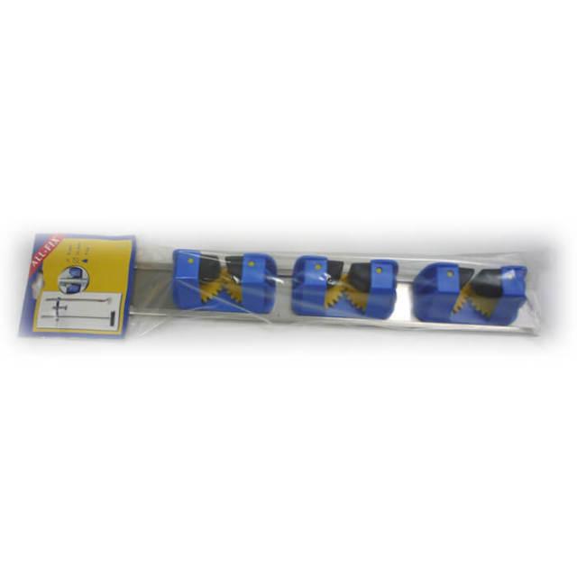 【完売】オールフィックス ALL-FIX レール付きクランプ3個 青