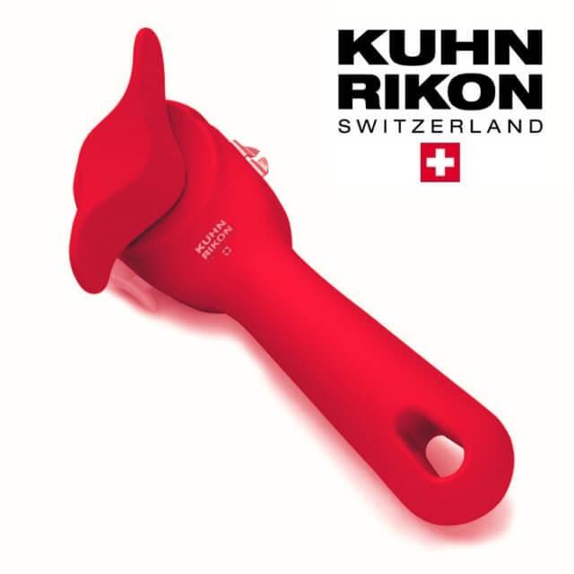 クーンリコンKUHNRIKONの便利キッチン雑貨「安全缶切り 赤(レッド)」