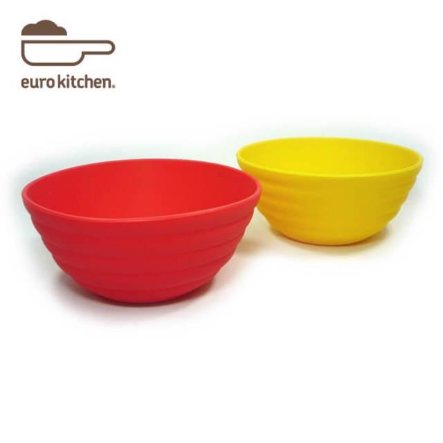 ユーロキッチン eurokitchen シリコンベビーボウル2個セット