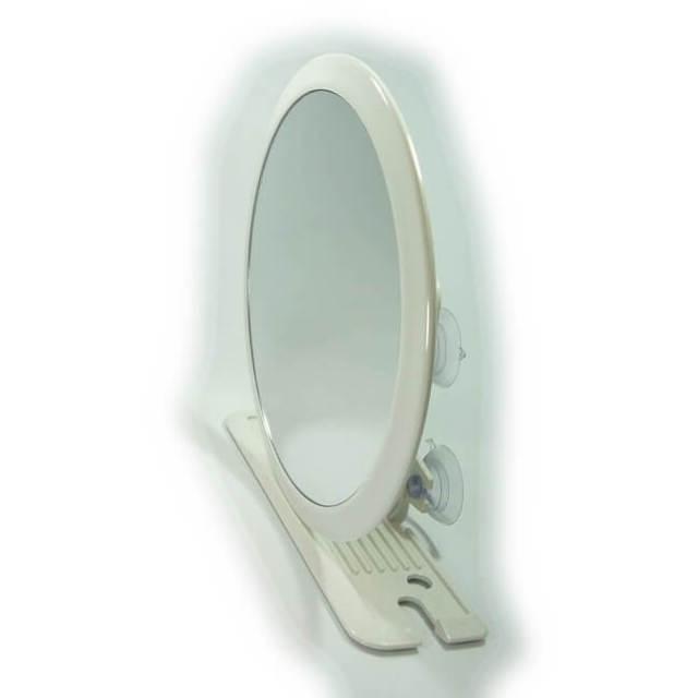 【完売】マストラッド MASTRAD ZOOM 5倍拡大鏡(変倍鏡) お風呂用拡大ミラー大 小物置きスタンド付き タイプB Z800