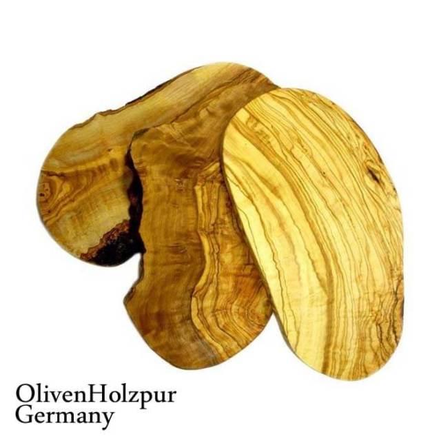 オリフェン・ホルツプア OlivenHolzpur オリーブの木まな板(30x17x2cm) 変形ナチュラル #BN30【送料無料】