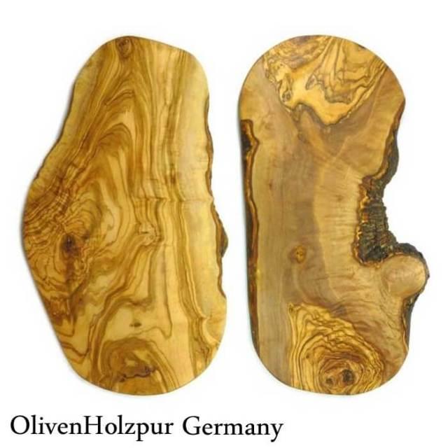 オリフェン・ホルツプア OlivenHolzpur オリーブの木まな板(40x20x2cm) 変形ナチュラル #BN40【送料無料】
