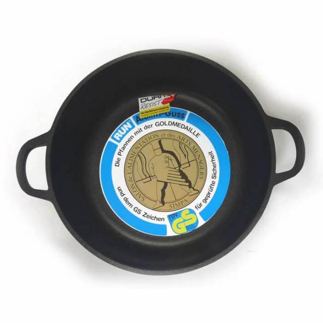 ルン RUN アルリスグース鍋24cm 深型 214【送料無料】【アウトレット・訳あり特価品】