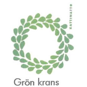 【在庫処分セール】カティナット KATTINATT スポンジワイプ・キッチンワイプ(ディッシュクロス 北欧) グリーンクランツGron krans