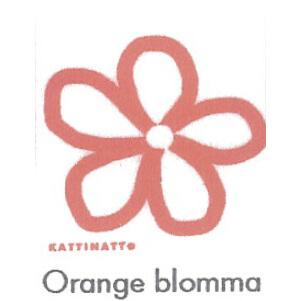 【在庫処分セール】カティナット KATTINATT スポンジワイプ・キッチンワイプ(ディッシュクロス 北欧) 花(オレンジ)Orange blomma