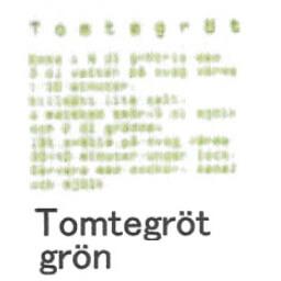 【在庫処分セール】カティナット KATTINATT スポンジワイプ・キッチンワイプ(ディッシュクロス 北欧) 文字(緑)tomtegrot gron