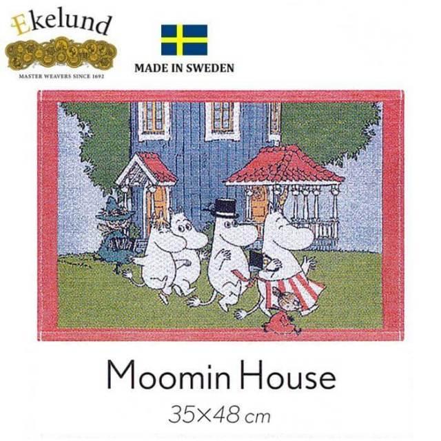 エーケルンド Ekelund ムーミンシリーズ Moomin MOOMIN HOUSE (ムーミンハウス) 35×48cm 【ランチョンマット】  #31687