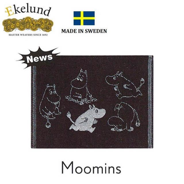 エーケルンド Ekelund ムーミンシリーズ Moomin MOOMINS 30×25cm【ディッシュクロス/キッチンクロス/北欧/オーガニックコットン】 #31618
