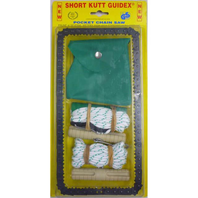 ポケットサイズの一風変わったノコギリ「ポケットチェーンソー」ロープ付きです