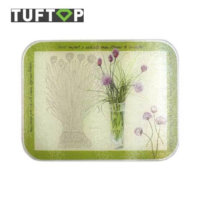 タフトップTUFTOPガラスまな板・イギリス製・強化ガラス
