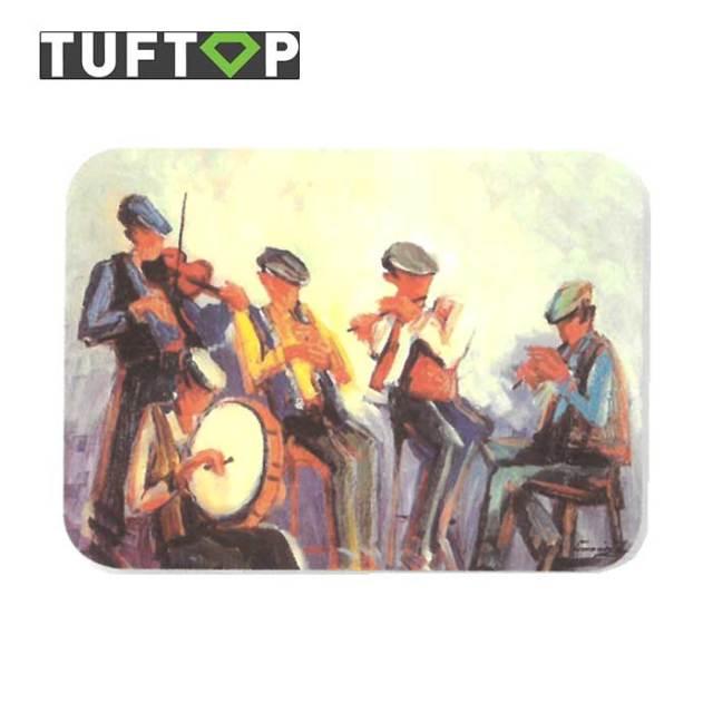 タフトップ TUFTOP ガラスまな板 『カントリー』 中【約30×40cm】【四角】アイリッシュミュージシャン