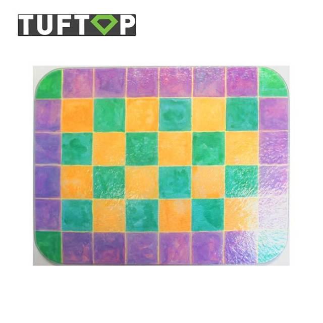 タフトップ モザイク ガラスまな板