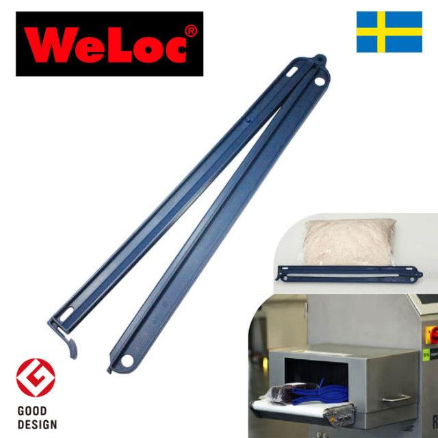 ウェーロック X線金属検査・非破壊検査機器用クリップイットPOM320FD-DBダークブルー 特特大320mm スウェーデン製