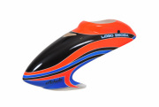 MIK04916 Canopy LOGO 550 SX V2 neon-orange/blue