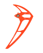 MIK04626 Vertical stabilizer neon red